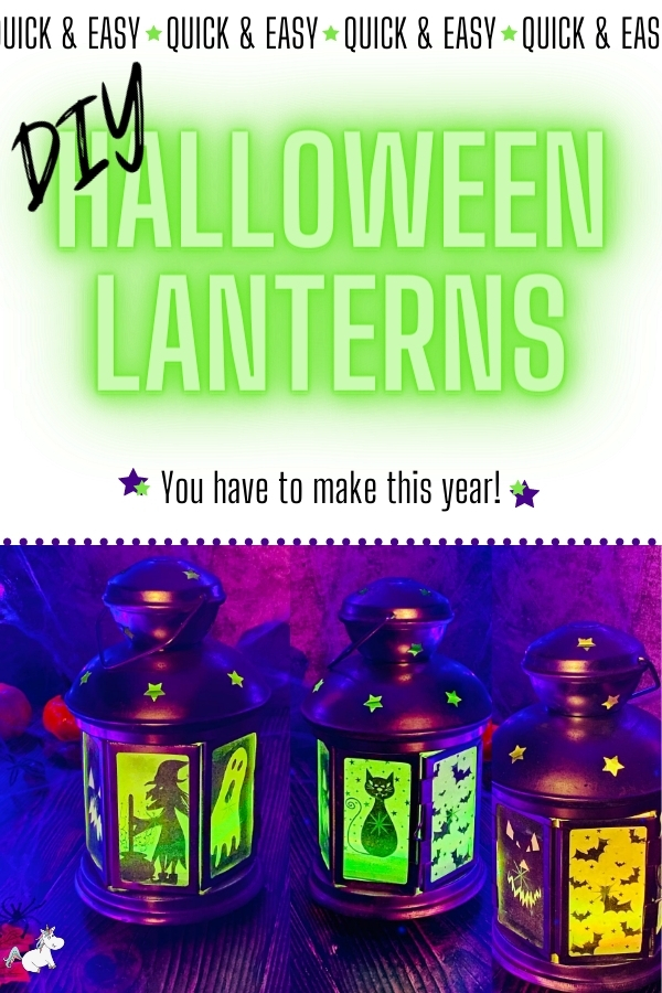 DIY Halloween Lanterns You Have To Make This Year! Looking for some easy DIY Halloween decorations? Look no further than this show-stopping Halloween DIY project!