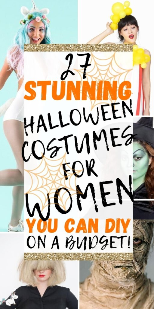 27 Stunning Halloween Costumes For Women That You Can DIY on a Budget! Looking for an easy Halloween costume that is unique and creative? Look no further than these genius Halloween costumes for women! #halloween #costumes #halloweenpartycostumes