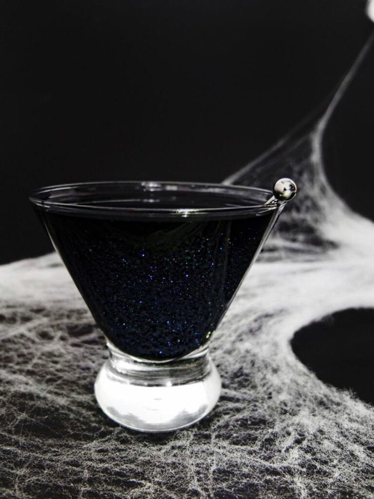 Black Magic Shimmering Cocktail