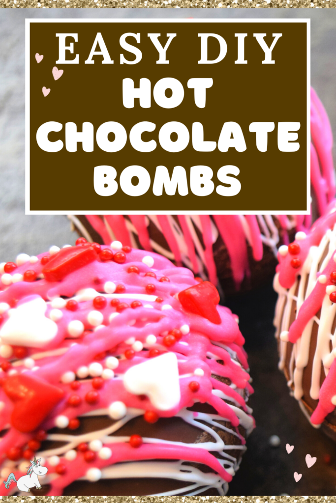 Learn how to make hot chocolate bombs with this easy DIY hot chocolate bomb recipe made with mini marshmallows and hot chocolate powder