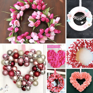 DIY Valentine wreaths you can make on a budget