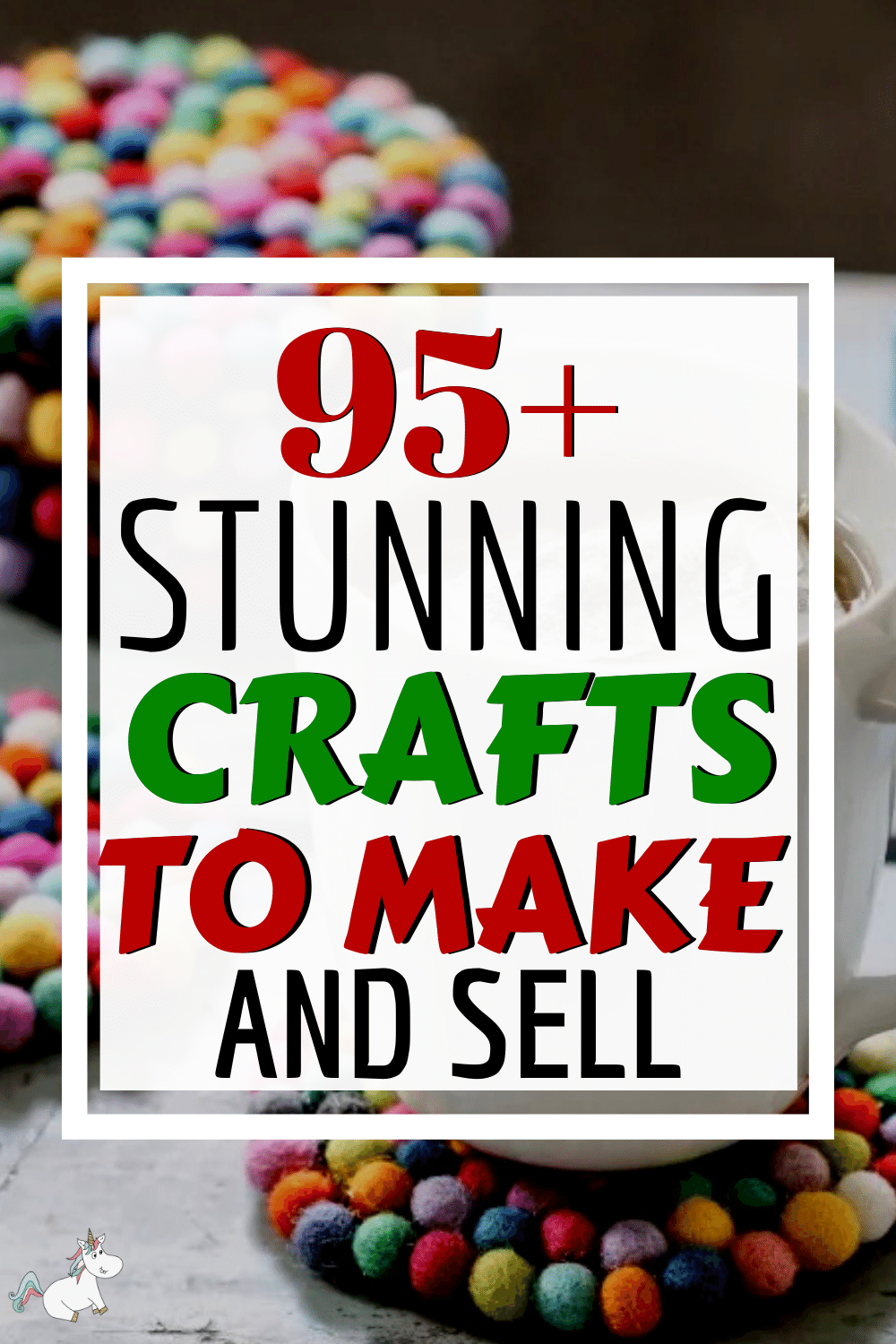 This round up of 95 crafts to make and sell is packed full of great crafts that sell like hotcakes. No matter what crafts you love to make, you're sure to find the perfect crafts that make money in this list or even be inspired to create something new. There are also tips on how to sell crafts online and what you can easily do to set yourself apart from your competitors! Check out these crafts that sell here!