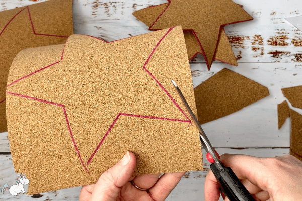 cut out the cork stars