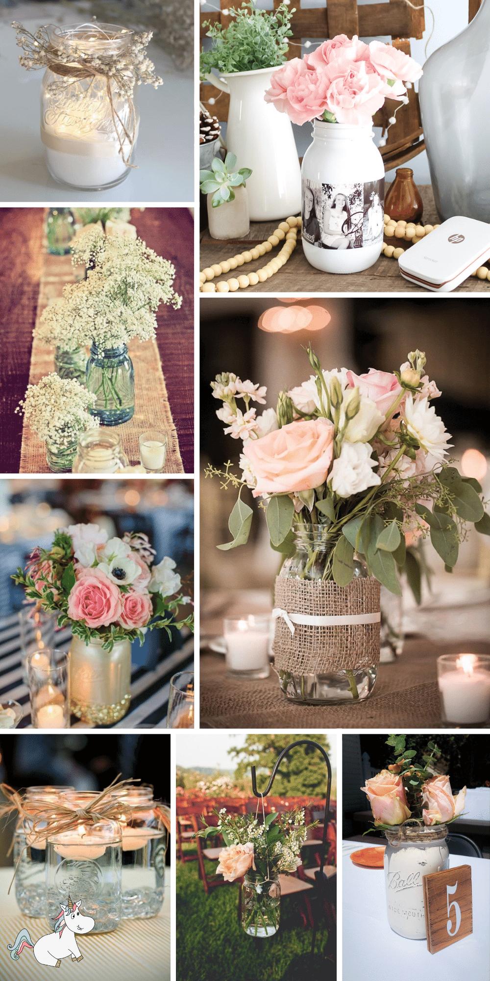 101 DIY Wedding Mason Jar Ideas You'll Love!