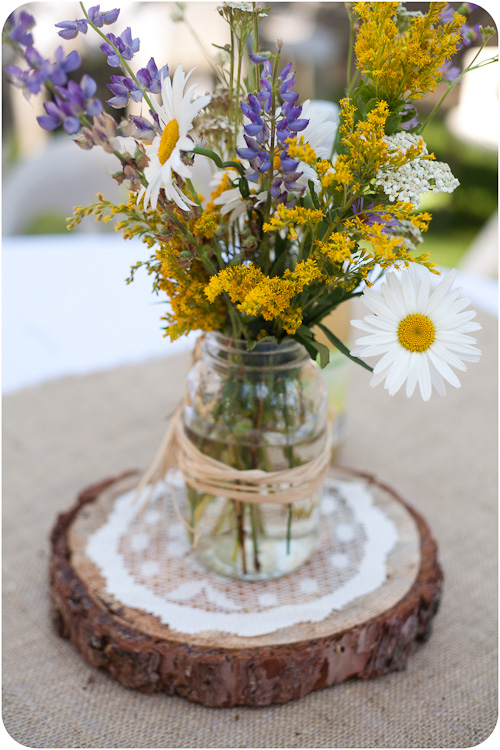DIY wedding mason jar