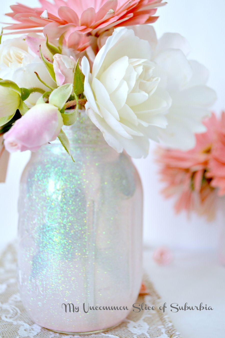 Mason Glitter Jars