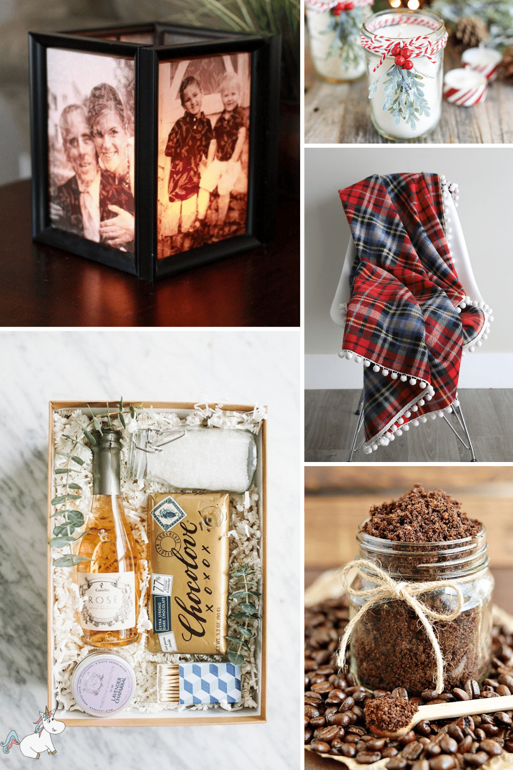 Selection of diy Christmas gifts ideas