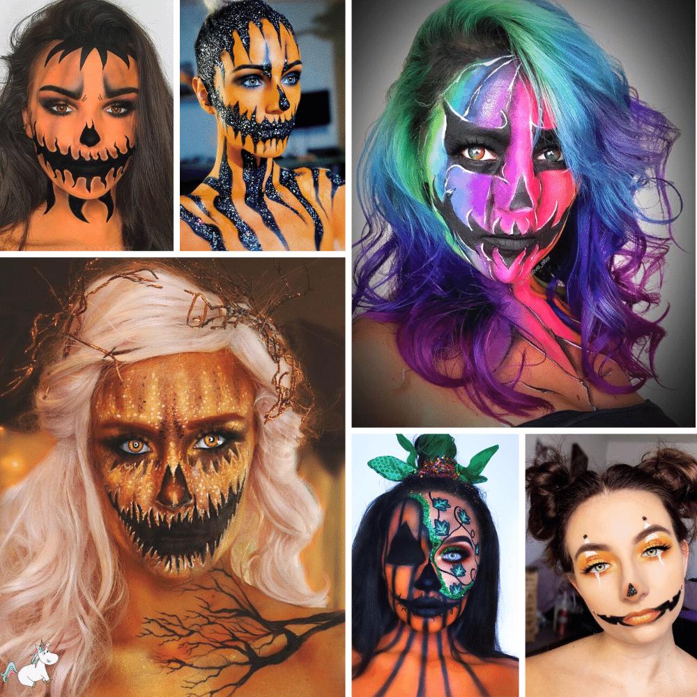 pumpkin face paint featured